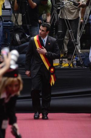 ... Miranda, es hora de seguir adelante. Henrique Capriles Radonski