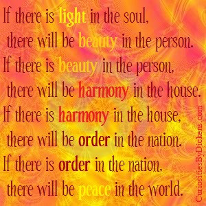 There Light The Soul Will