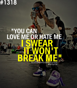 Back to Post :Love Quotes By Lil Wayne