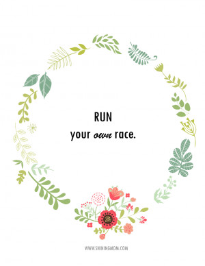 RUN YOUR OWN RACE FINAL
