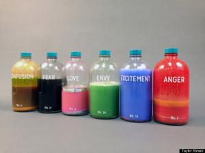 bottled emotions