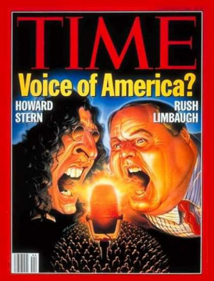 Howard Stern and Rush Limbaugh have the same birthday. So much for ...