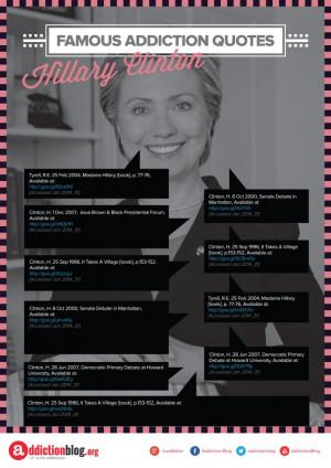 Hillary Clinton: We need more treatment facilities!