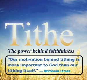 Great Truths About Tithing