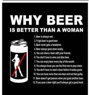 Why Beer Is Better Than A Woman - Best Friend Quote