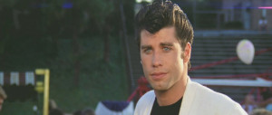 John Travolta as Danny Zuko in Grease (1978)