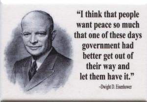 FM041 - Dwight D Eisenhower Quote