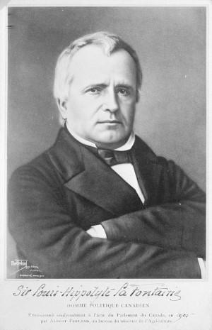 Photograph: Sir Louis-Hippolyte La Fontaine