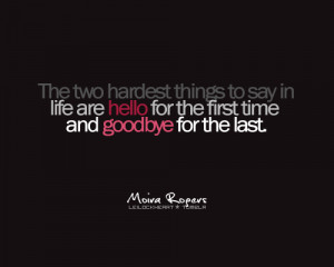 Saying goodbye quotes, funny goodbye quotes, goodbye cards, quotes ...