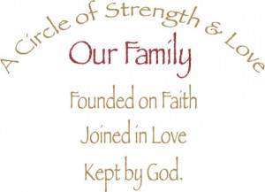 Quote About Family Strength