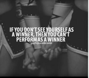 Cheerleading quotes  Believe in not just yourself but believe ...