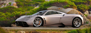 Pagani Huayra Landscape Facebook Timeline Cover HD Wallpaper