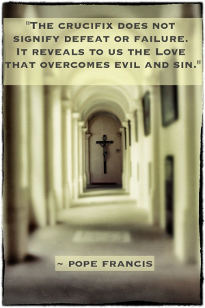 Pope Francis: Love that overcomes