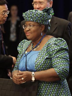 Nigeria's Finance Minister Okonjo-Iweala. ©REUTERS/Yuri Gripas