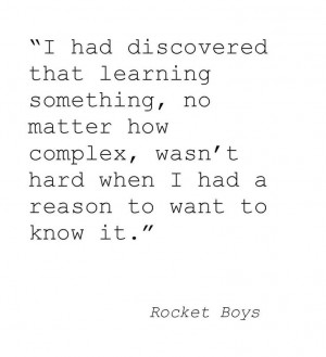 Rocket Boys ️