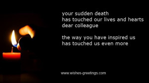 Sudden Death Poems Quotes