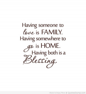 Quotes About Family Love And Support Cute family quotes