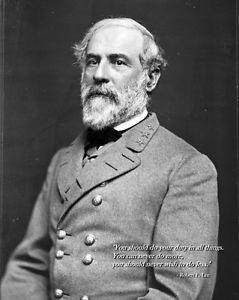 New-8x10-Civil-War-Photo-General-Robert-E-Lee-with-Famous-Quote