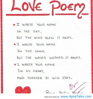 Love Peoms