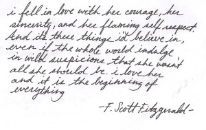 Scott Fitzgerald Quotes For