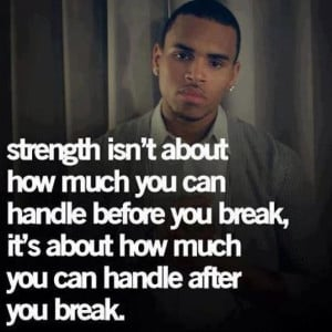 Words of Wisdom: Chris Brown
