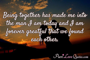 Found in: Great Love , Photo Quotes , Forever