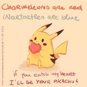 cute pokemon love poem