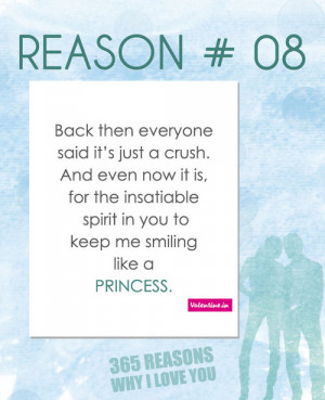 valentineindia:Reasons why I love you #8 : Back then everyone said it ...