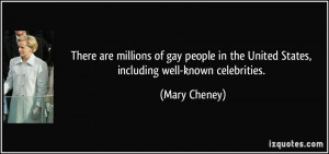 There are millions of gay people in the United States, including well ...