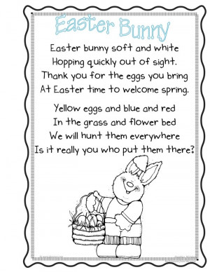 Unique Christian Easter 2015 Poems For Toddlers