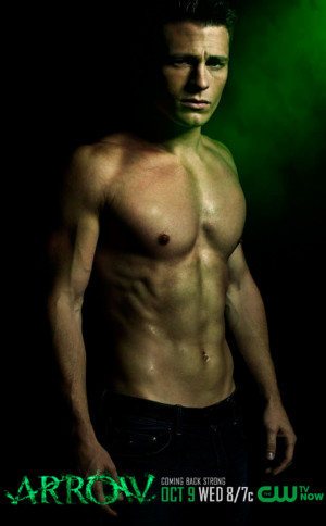 Arrow Season 2 First Look: Colton Haynes Is Shirtless and Stronger ...