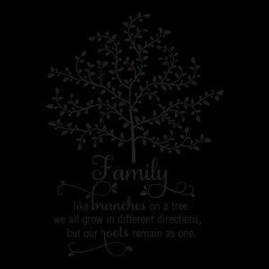 Family Tree Wall Quotes™ Decal