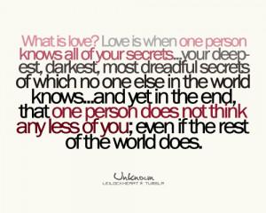 Love, Love Quotes