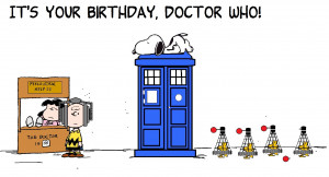 Doctor Who Birthday
