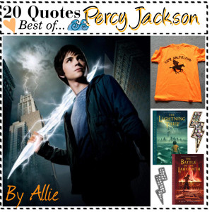 Moving on to the quotes!Percy Jackson [x] Book [ ] MovieAuthor: Rick ...