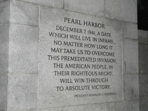 Day of Infamy Pearl Harbor quote by MightyMorphinPower4