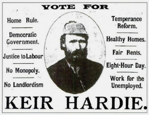 Vote For Keir Hardie – Labour Party Values