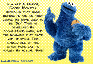 Sesame Street Facts- Cookie Monsters Real Name copy