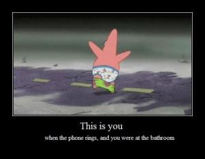 Funny photos funny Patrick pants down SpongeBob