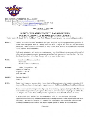 Press Release Examples