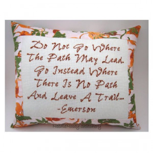 ... Quote, Fall Autumn Colors Pillow, Inspirational Quote. $25.00, via