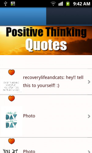Positive Thinking Quotes FREE - screenshot