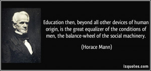 More Horace Mann Quotes