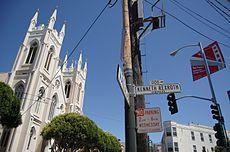 Ulica v San Franciscu pomenovaná podľa Kennetha Rexrotha