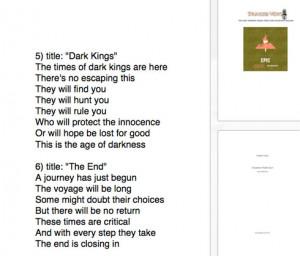 Epic Poem Examples Epic poem examples epic poem
