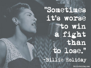 Billie Holiday All Right Reserved ^ Top