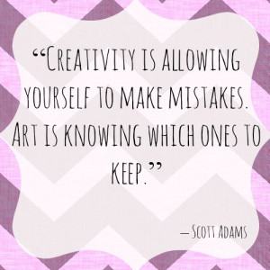 Creative Quote of the Week