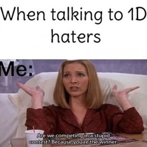 One direction || one direction haters win :)