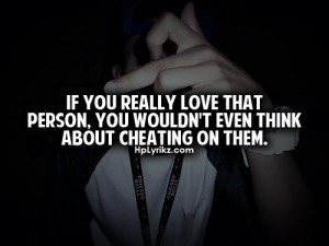 Love Cheaters Quotes