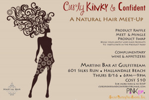 Mane Tales: Curly, Kinky & Confident Natural Hair Meet-Up